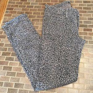 Paige cheetah/ leopard print peg skinny jean